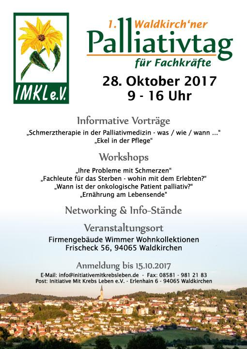 Einladung zum ersten Waldkirchener Palliativtag