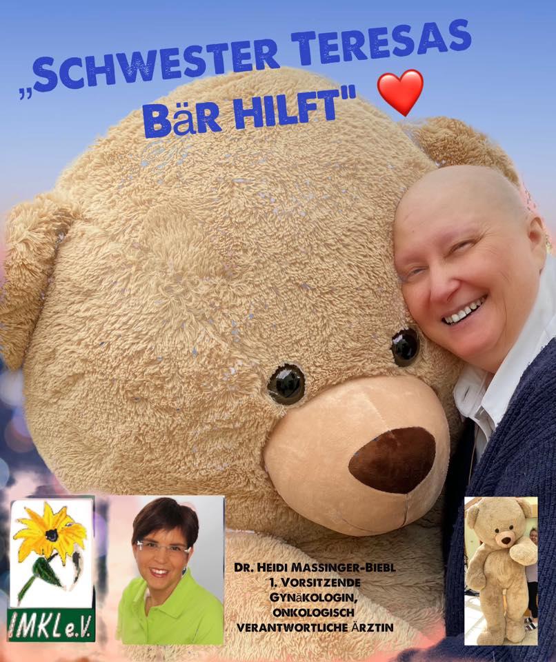Bild der Spendenaktion von Schwester Teresas Baer hilft