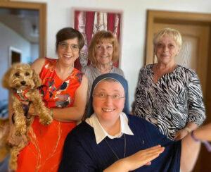 Dankesbesuch bei Schwester Teresa