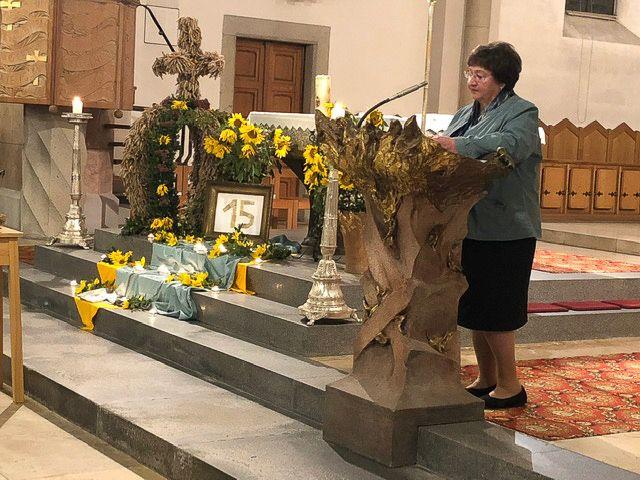Gottesdienst in der Pfarrkirchen in Waldkirchen